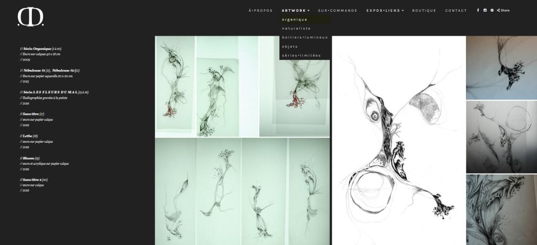 Site Portofio - Artwork